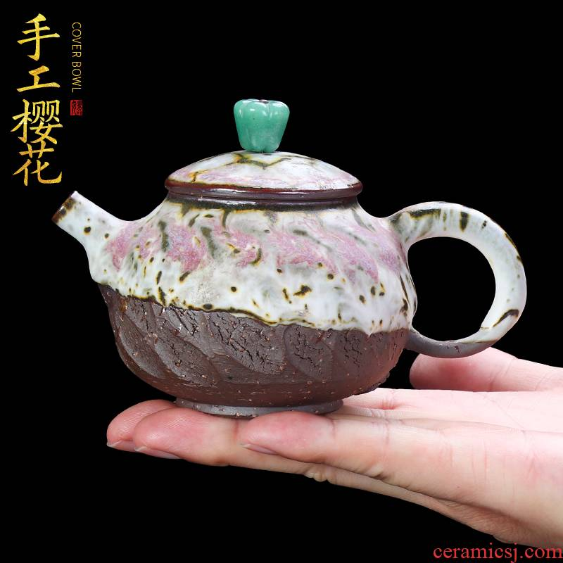 The Master artisan fairy Fanny wong checking ceramic teapot blossoms home variable large teapot single pot of restoring ancient ways