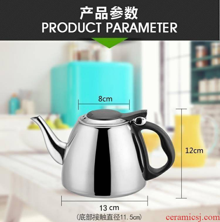 Electromagnetic dedicated to burn electric tea kettle, tea tea set general single suit office tea tea table flat w