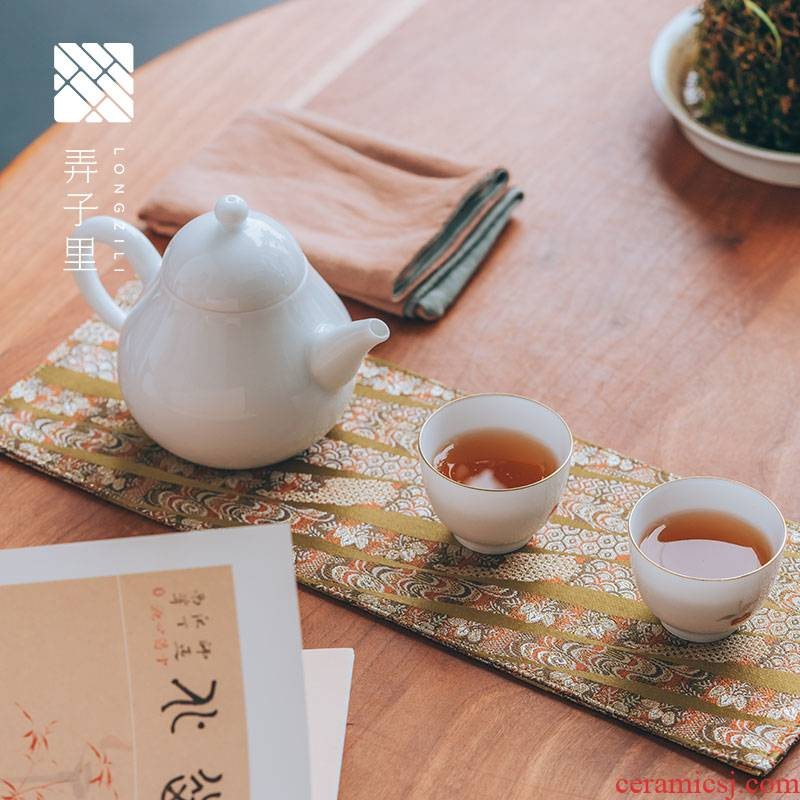 In tea table cloth {sung} brocade zen wind table flag tea tea cloth art China rectangle Chinese style with zero