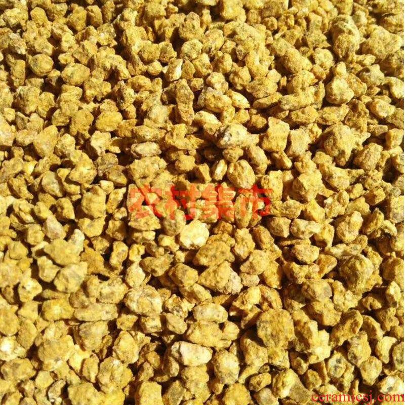 Gold nutritional soil of maifan stone more soft stone dedicated fleshy soil particles of the butcher shop soil medium with soil ceramsite 50 kg