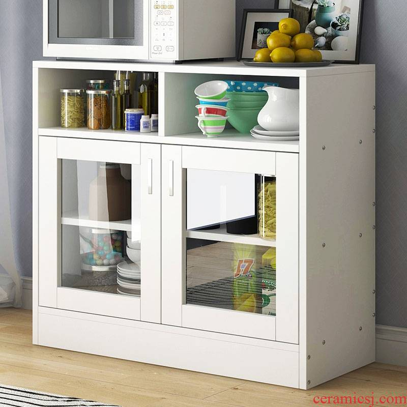 Eat edge ark, is I and contracted tea the receive store content ark cabinet sitting room multi - functional kitchen cupboard microwave cabinet