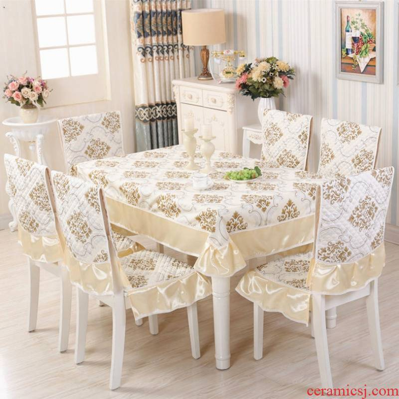 Chair covers the home dining table cloth Chair Chair as suit I and contracted table cover cloth art