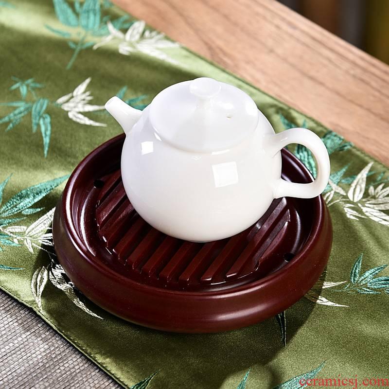Bakelite pot bearing dry mercifully machine round a pot pot pot pad round cup pallet household kung fu tea taking with zero