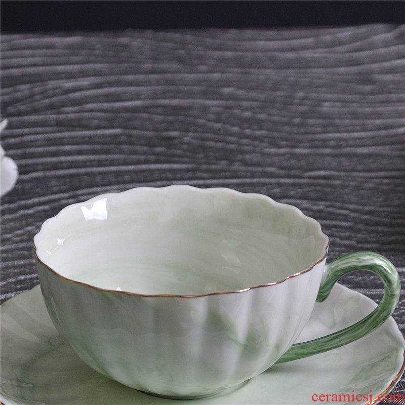 Single ceramic coffee cup northern natural stone light much creative household take afternoon tea cups red cup of green tea cup