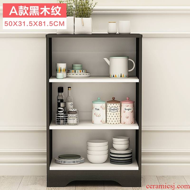 Contracted and I eat edge ano lockers multi - functional kitchen cabinets cabinets simple assembly cupboard tea tank supporter