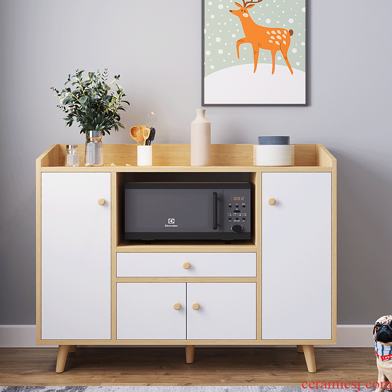 Eat edge ark, is I and contracted microwave cabinet Nordic household multifunctional tea cabinet sitting room dining - room storage cupboard