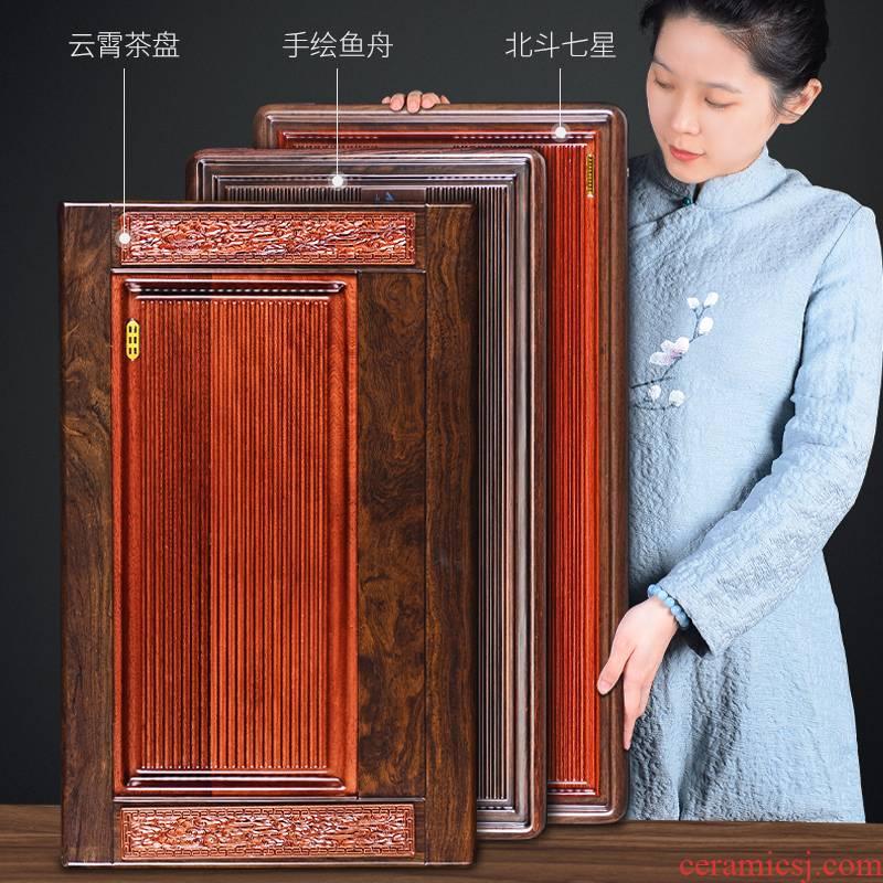 It still fang bakelite tea tray was big household contracted kung fu tea tea set drainage type electric bakelite large tea tray