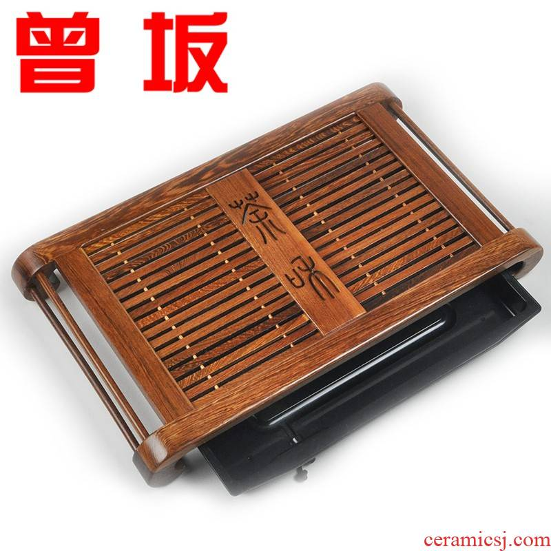 The Who -- tea tray wenge kung fu tea rose wood real wood large ebony ground tea table from the sea