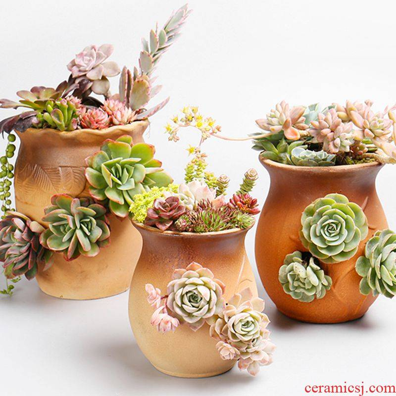 More than one kind of much wining flesh POTS ceramic POTS with special offer a clearance hole through my pockets tao old running high barrel