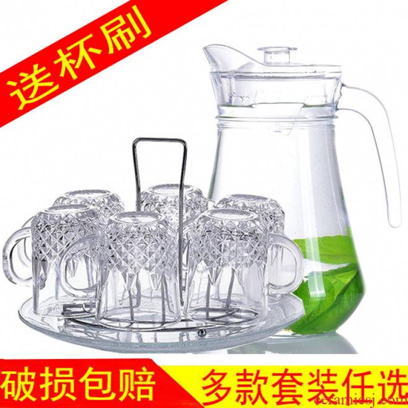 Household glass breakage price. Mean - while 】 【 suit lead - free high - temperature transparent beer glass tea cup cold water