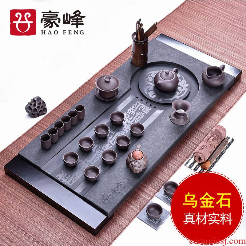 HaoFeng sharply stone set stone tea sea home drainage violet arenaceous vintage kung fu tea tea