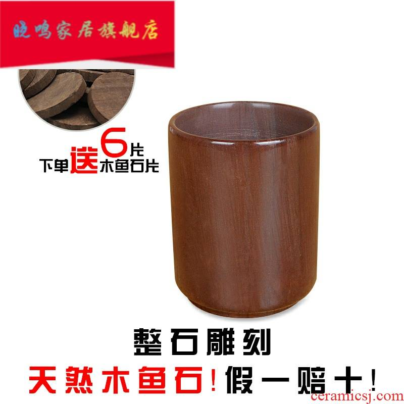 Muyu stone tea - the original stone care cup straight cup keller cup by hand not purple sand bag of maifan stone post