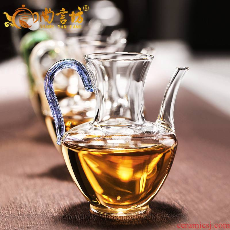 It still seems more reasonable fang glass cup tea sea hot points of tea filter and a cup of tea sets accessories)