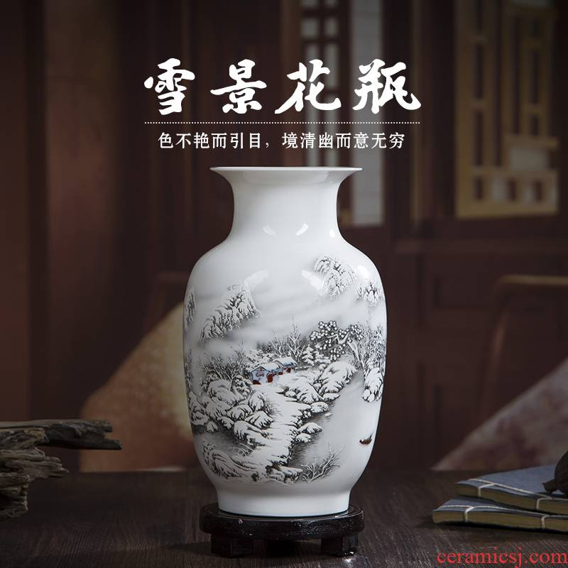 Floret bottle household act the role ofing is tasted furnishing articles 436 jingdezhen ceramics flower arranging living room TV cabinet decorative arts and crafts