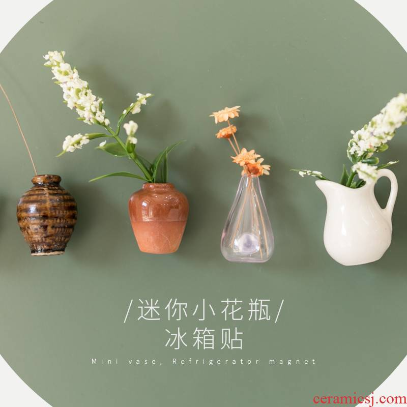 Fridge magnets Japanese ceramic all a set of 3 d creative move trend all the for furnishing articles home decoration