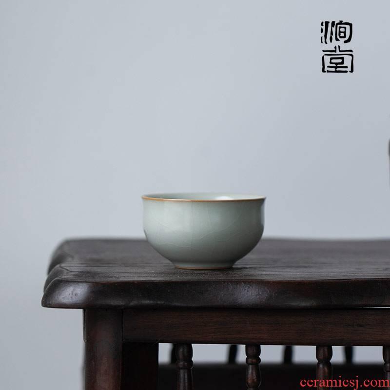 U.s but don ceramic cups kung fu tea master cup single CPU jingdezhen build your porcelain lamp that tea cup of tea