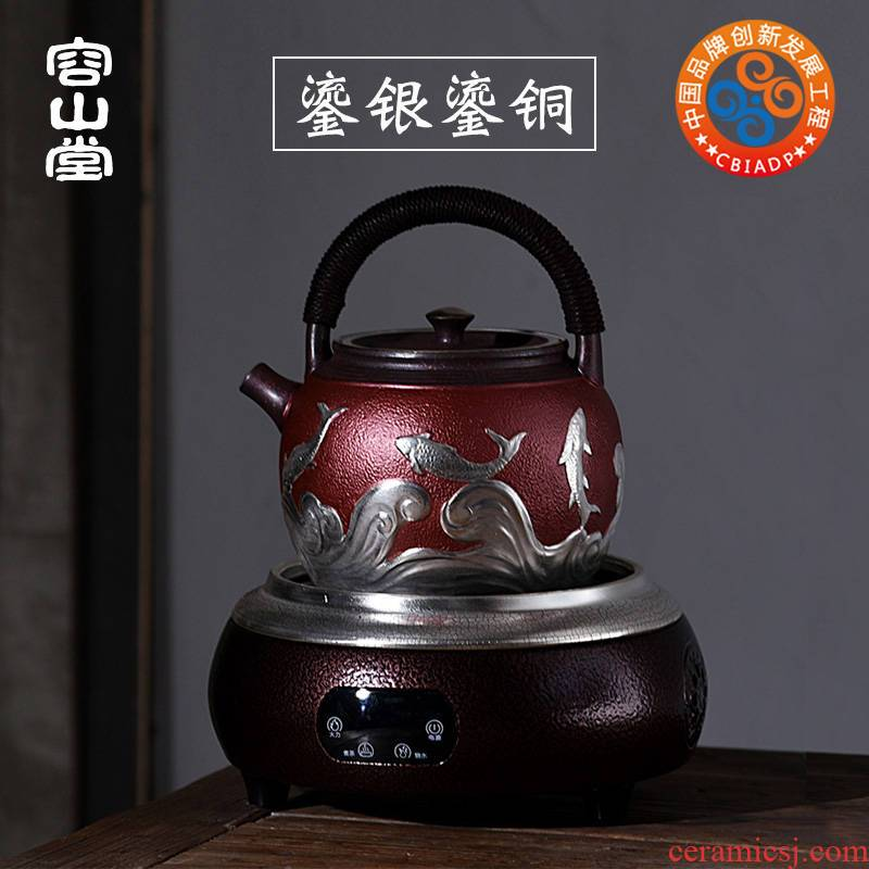 Vatican let gode coppering. As copper teapot cooked tasted silver gilding tea retro large teapot kettle kung fu tea set