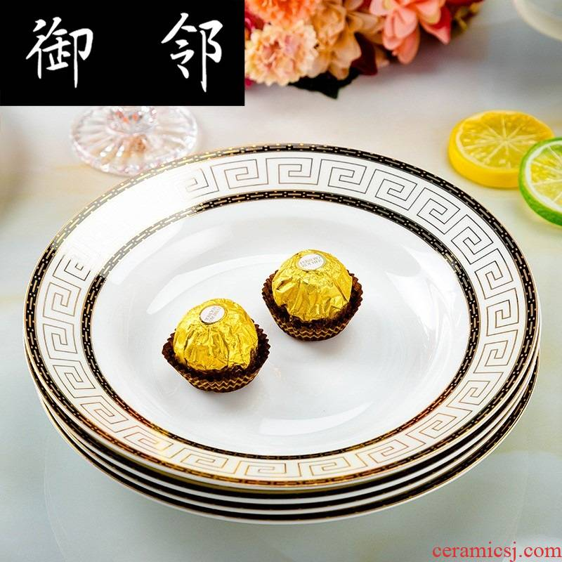 Propagated to use plate household utensils to jingdezhen ceramic ipads source gift set