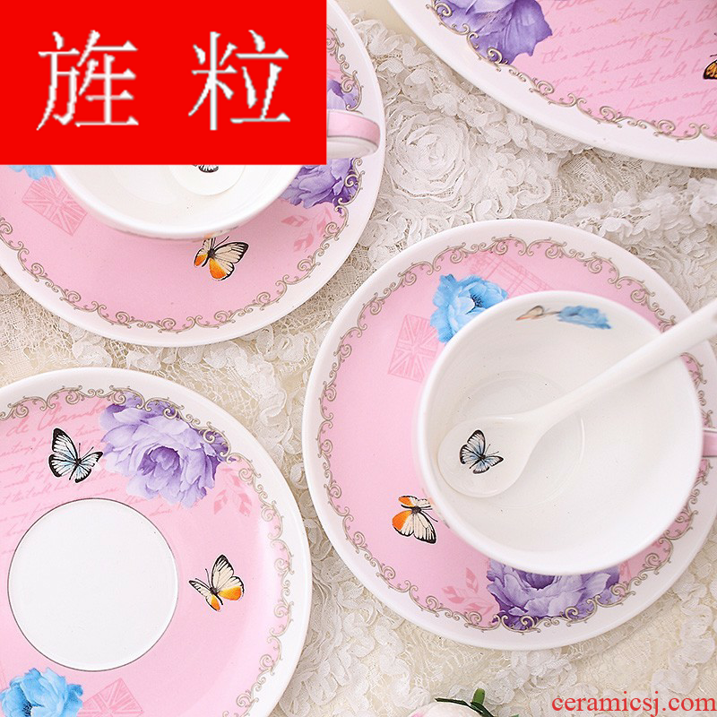 Continuous grain ceramic tea set pastoral glass tea cup teapot warm red cup insulation in the afternoon