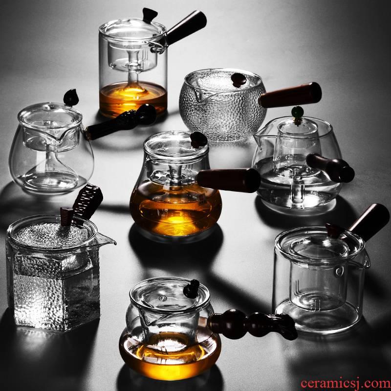 It still fang cooking pot glass tea set home cooked tea ware teapot electric pu 'er tea steamer