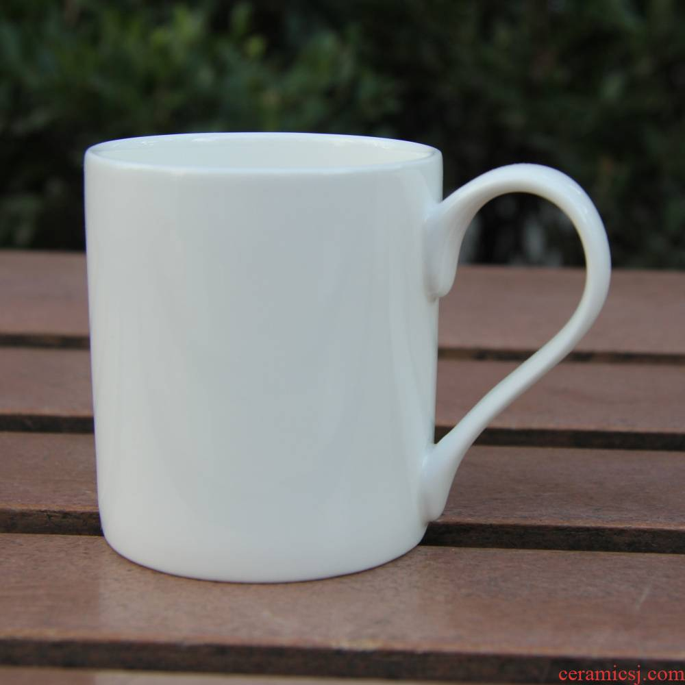 Qiao mu tangshan ipads porcelain white places cup keller cup coffee cup of hot ultimately responds cup children small cup of milk breakfast