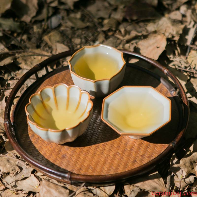 Hongying jingdezhen your up ceramic kunfu tea light masters cup your porcelain craft porcelain cups sample tea cup single CPU