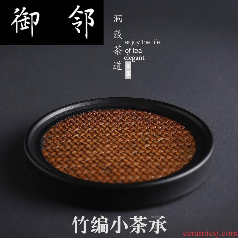 Tea sets bamboo pot bearing kung fu Tea accessories bearing Japanese contracted cup mat heat a pot of Tea