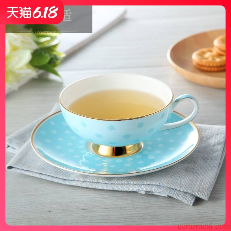 Hold to guest comfortable European ipads China coffee cups and saucers home office flower cups little fresh couples cup men 's and' s cup