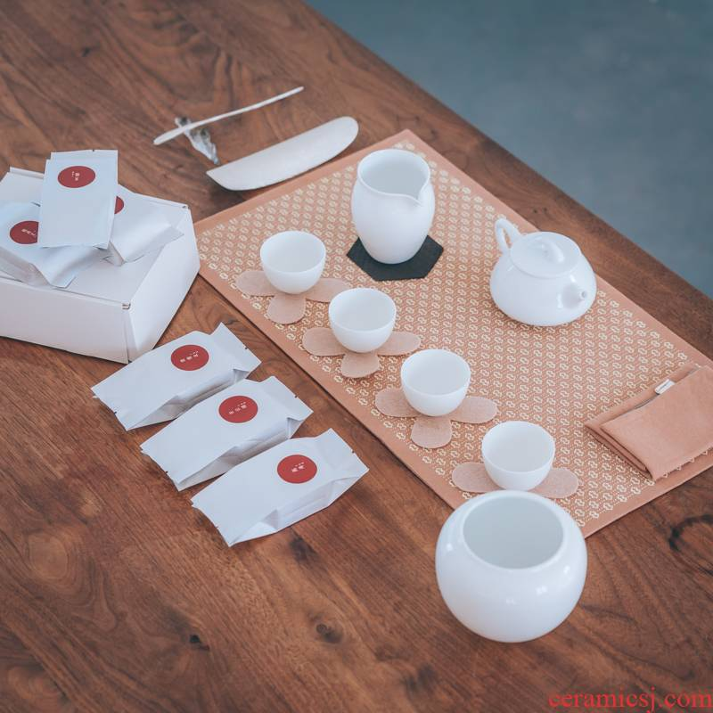 Lane. Gas up 106 debris gourd ladle pot analyzes 6 piece with male cup 4 small tea cup + trials gift box