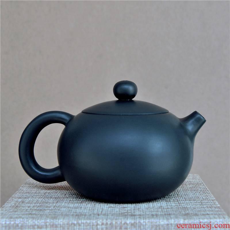 Shu also built water purple pottery teapot tea set suit household single pot of kung fu tea set violet arenaceous kettle ceramic clay POTS is not purple