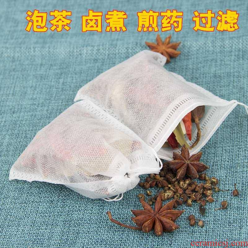 Tea bag bag in non - woven filter Tea Tea packaging bag soup tisanes Chinese medicine the relish bag halide cooked at once