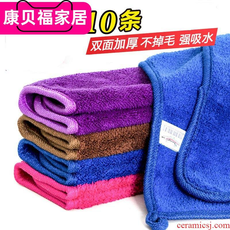 South Chesapeake cloth water dropping plaster cloth wipe furniture special cleaning tea table cloth cleaning towel.
