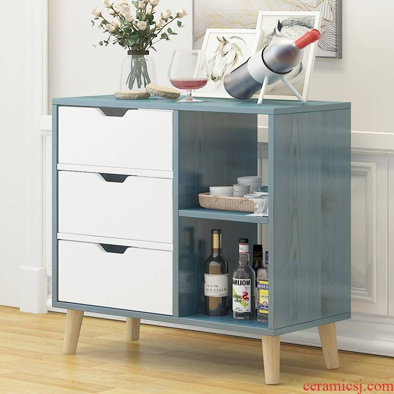 Eat edge ano wine ambry kitchen cupboards to receive ark, contracted and I tea tank multifunctional restaurant ark cabinet store content ark