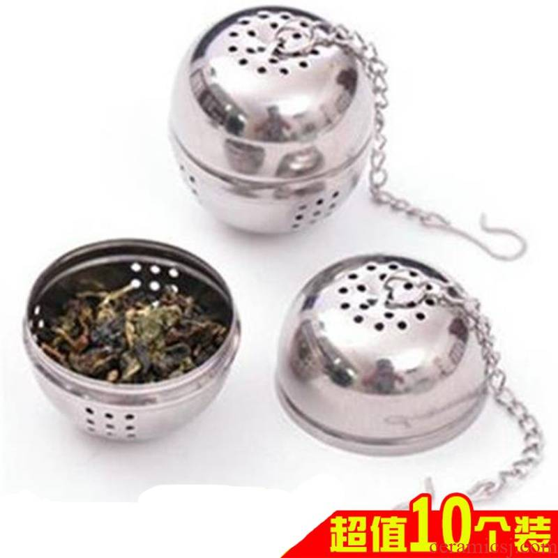 Make tea tea tea ball filter spherical tea is tea catch tea strainer stainless steel iron creative tea strainer