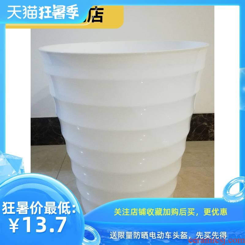 More rich, being high caliber hydroponic plastic flowerpot large sale, fleshy clearance, imitation ceramic household
