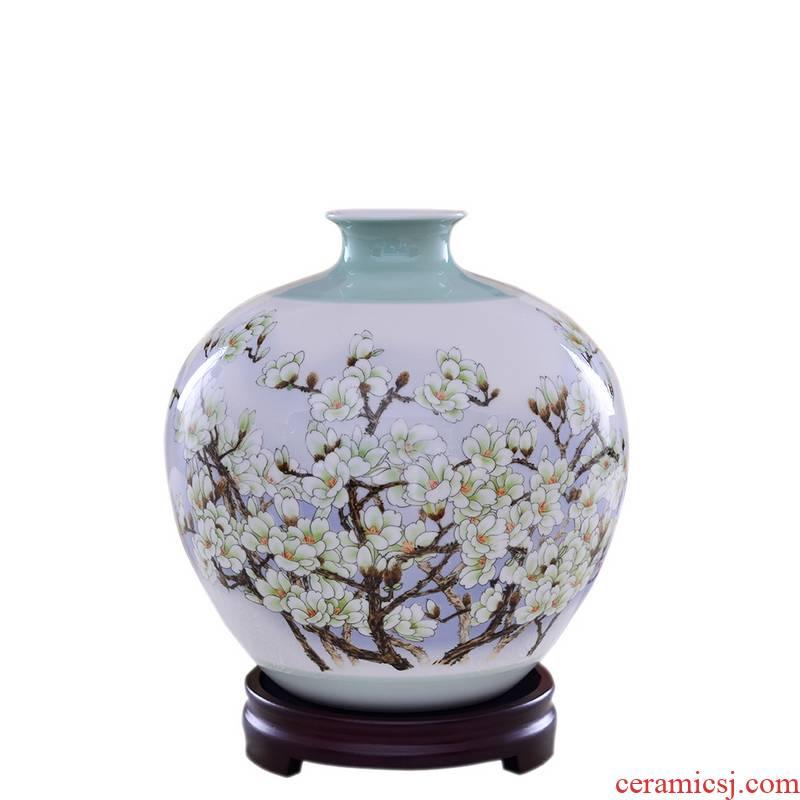 Creative arts porcelain, jingdezhen ceramic vase porch furnishing articles of handicraft demand home sitting room adornment