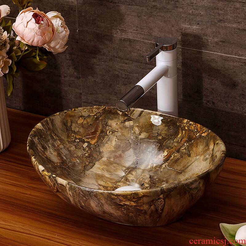 The stage basin bathroom home for wash basin hotel suit with small size ceramic art water lavatory basin