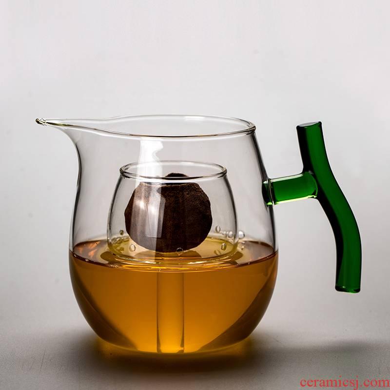 RenXin heat resistant high temperature boiling the teapot who was orange glass machine electricity TaoLu scented tea pu - erh tea tea and a cup of tea
