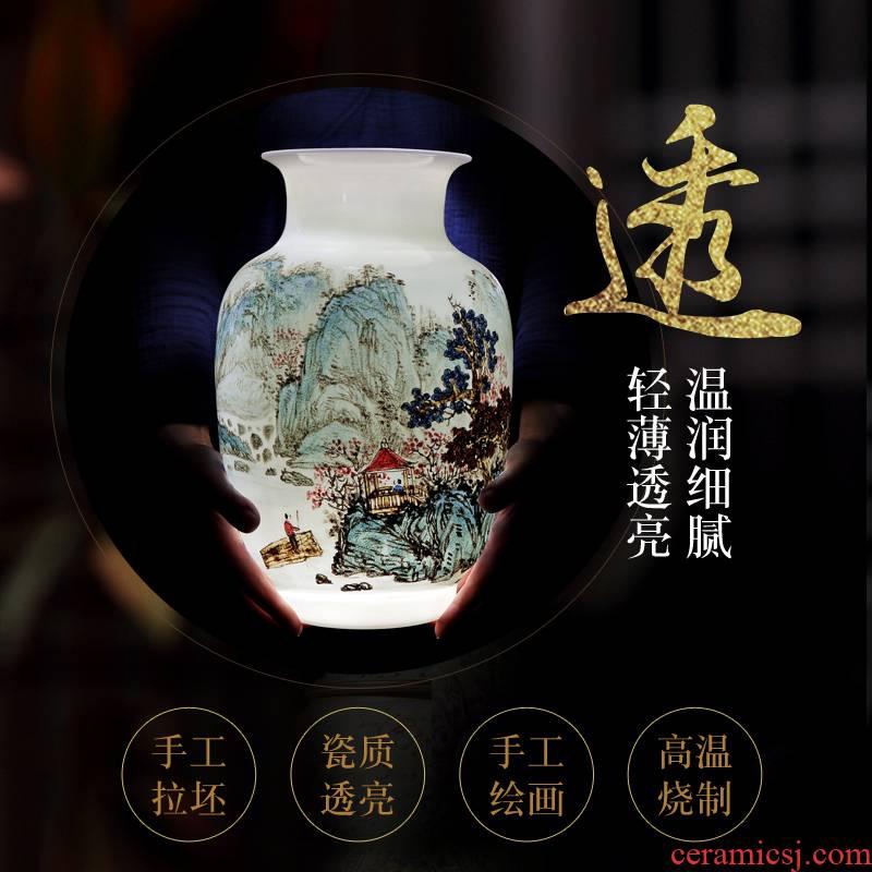 Jingdezhen vase new color hand - made idle break the vase
