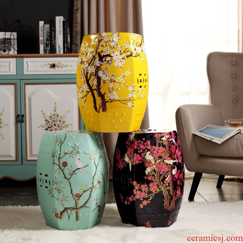 The New Chinese rural study classical bedroom home dress sits who sitting room flowers pottery drum who pavilions, dry who