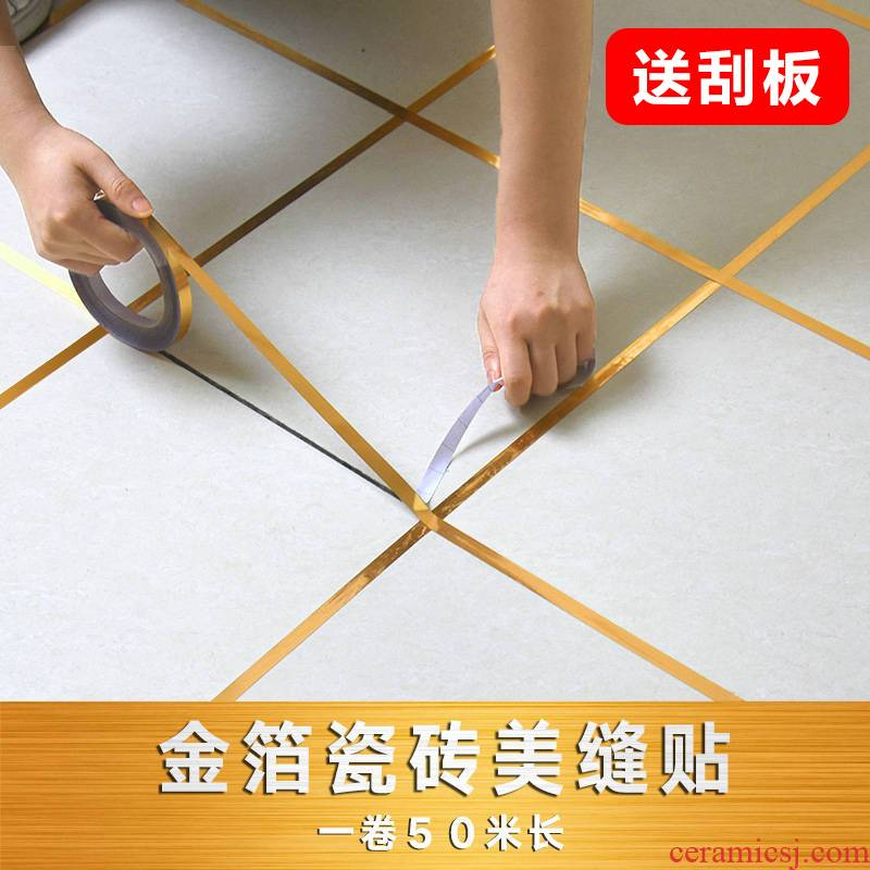 To embellish the ground waterproof abrasive paper metope ceramic tile aperture adornment line post article sitting room the bedroom floor