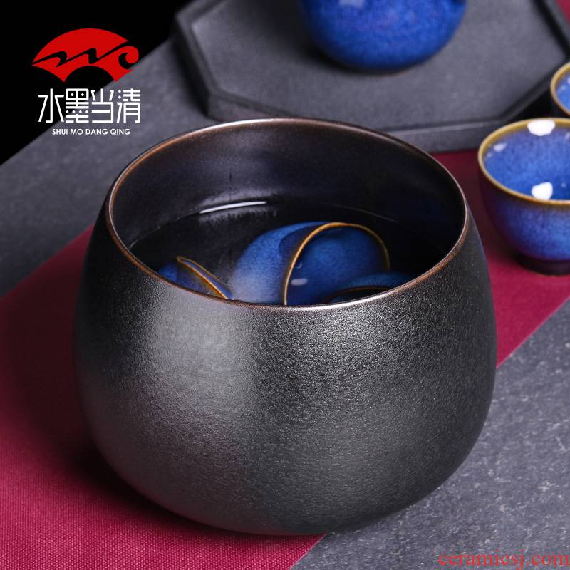 Tea to wash water, after the Japanese zen household ceramic pot tubas tooling for wash cup retro kung fu Tea accessories