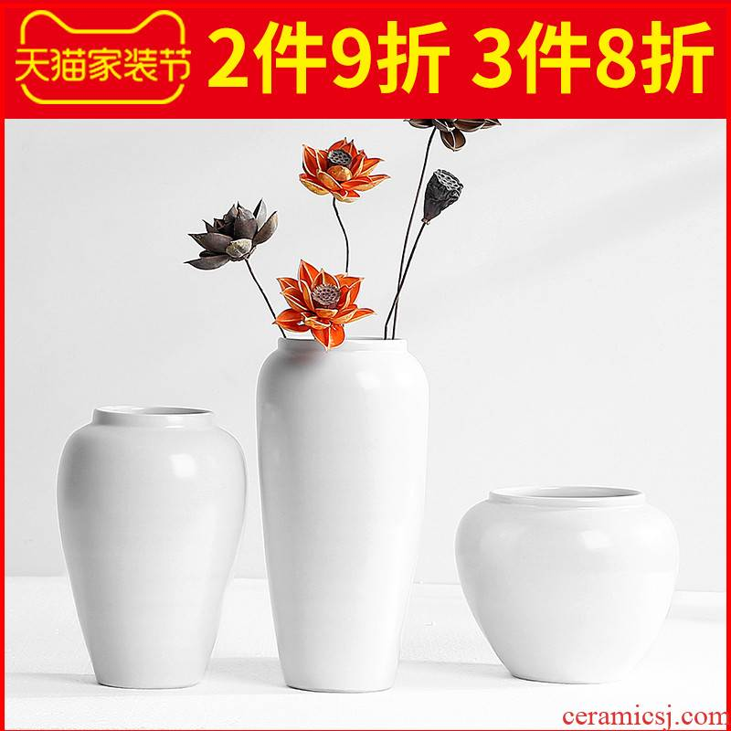 Nordic ceramic vases, I and contracted Europe type living room TV cabinet table dry flower arranging flowers furnishing articles home decoration