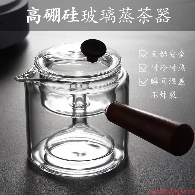 Glass cooking pot side put the pot of electric TaoLu cooking and tea set high temperature kettle boil tea tea, home