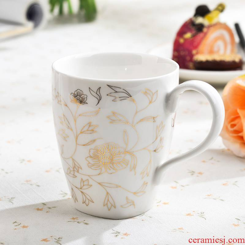 Ceramic cups porcelain take water cup cup cup to ultimately responds water porcelain cups porcelain bowl household glass Ceramic cup set