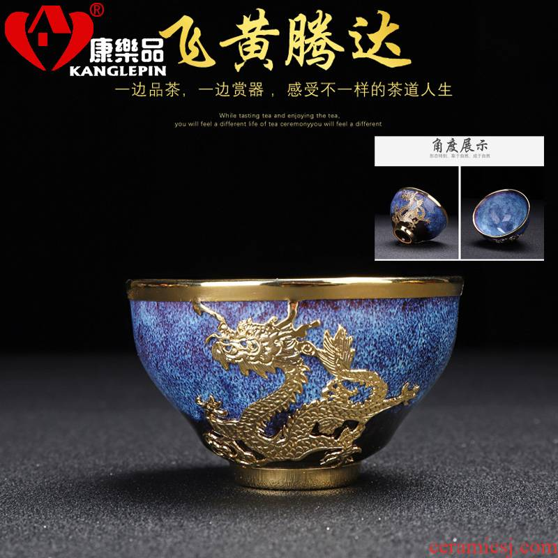Recreation an inset jades droplets built one tea cup obsidian change with olay kung fu master ceramic cup single cup by hand
