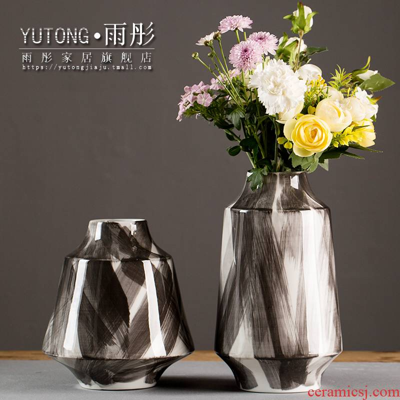 European I and contracted household ceramic vase wine example room sitting room fashion creative decorations furnishing articles
