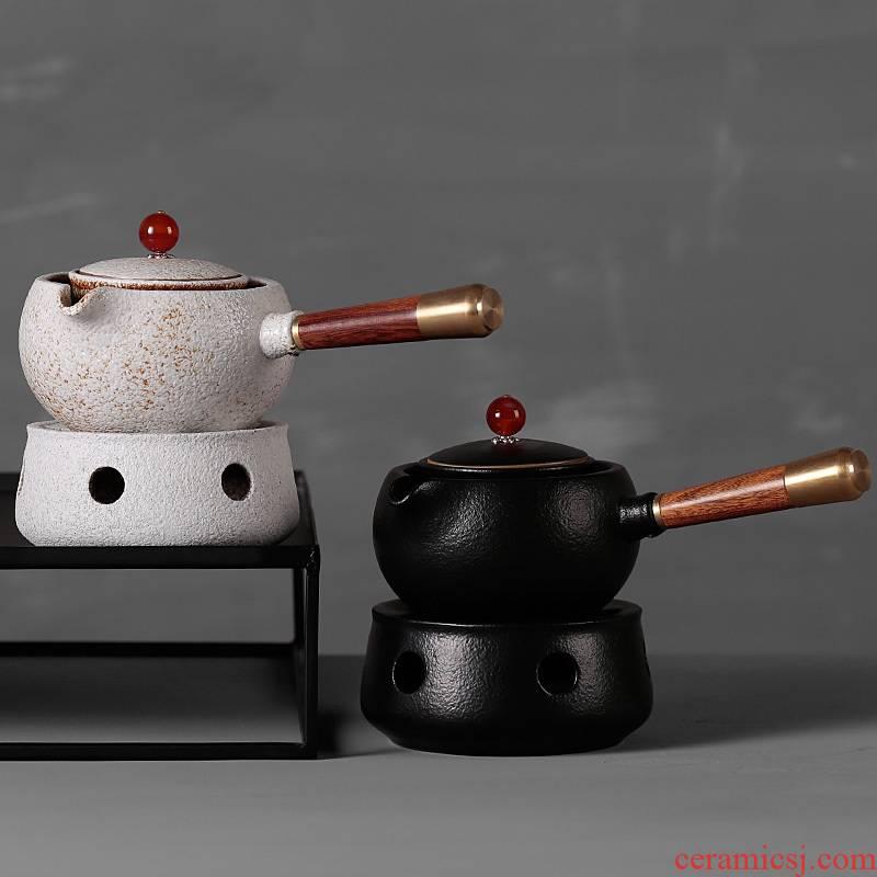 Coarse TaoWen tea stove boiling tea stove alcohol lamp temperature wine pot of black tea is a warm tea, simple Japanese household