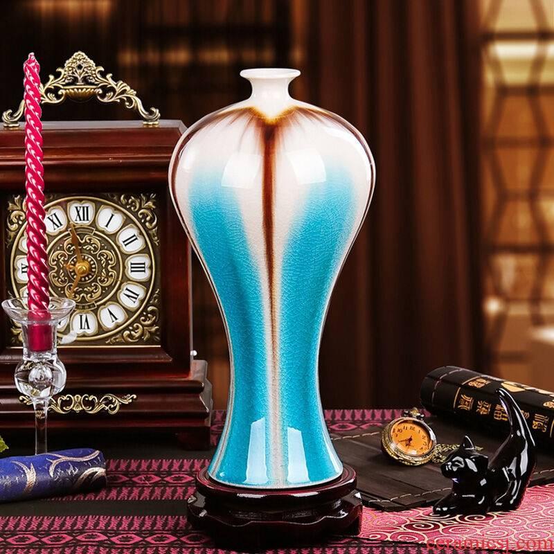 Clearance!!!!!! Jingdezhen vases, flower arrangement sitting room ark, TV ark, rich ancient frame decoration ceramics furnishing articles