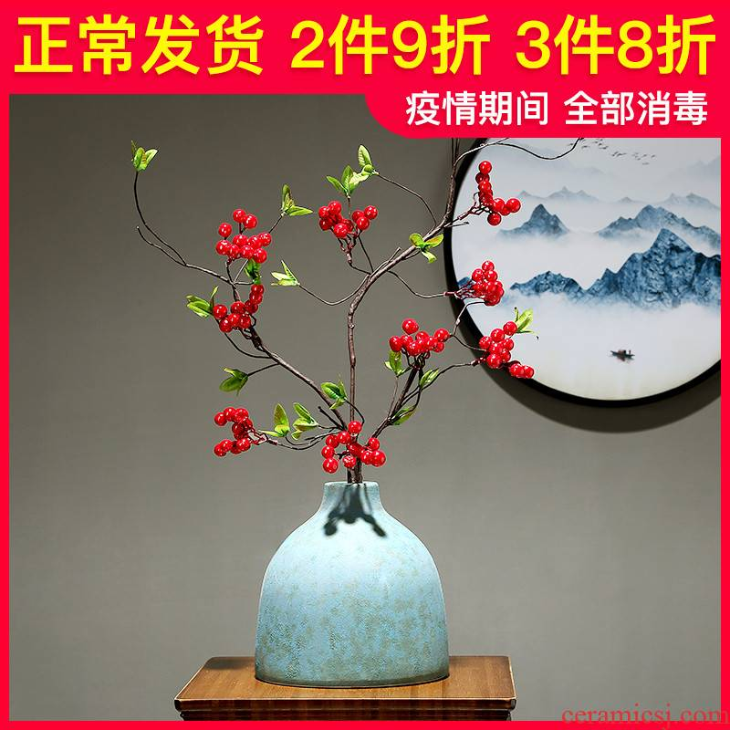 The new Chinese vase dried flowers, flower arranging hotel decoration ware jingdezhen ceramics decoration furnishing articles to The living room